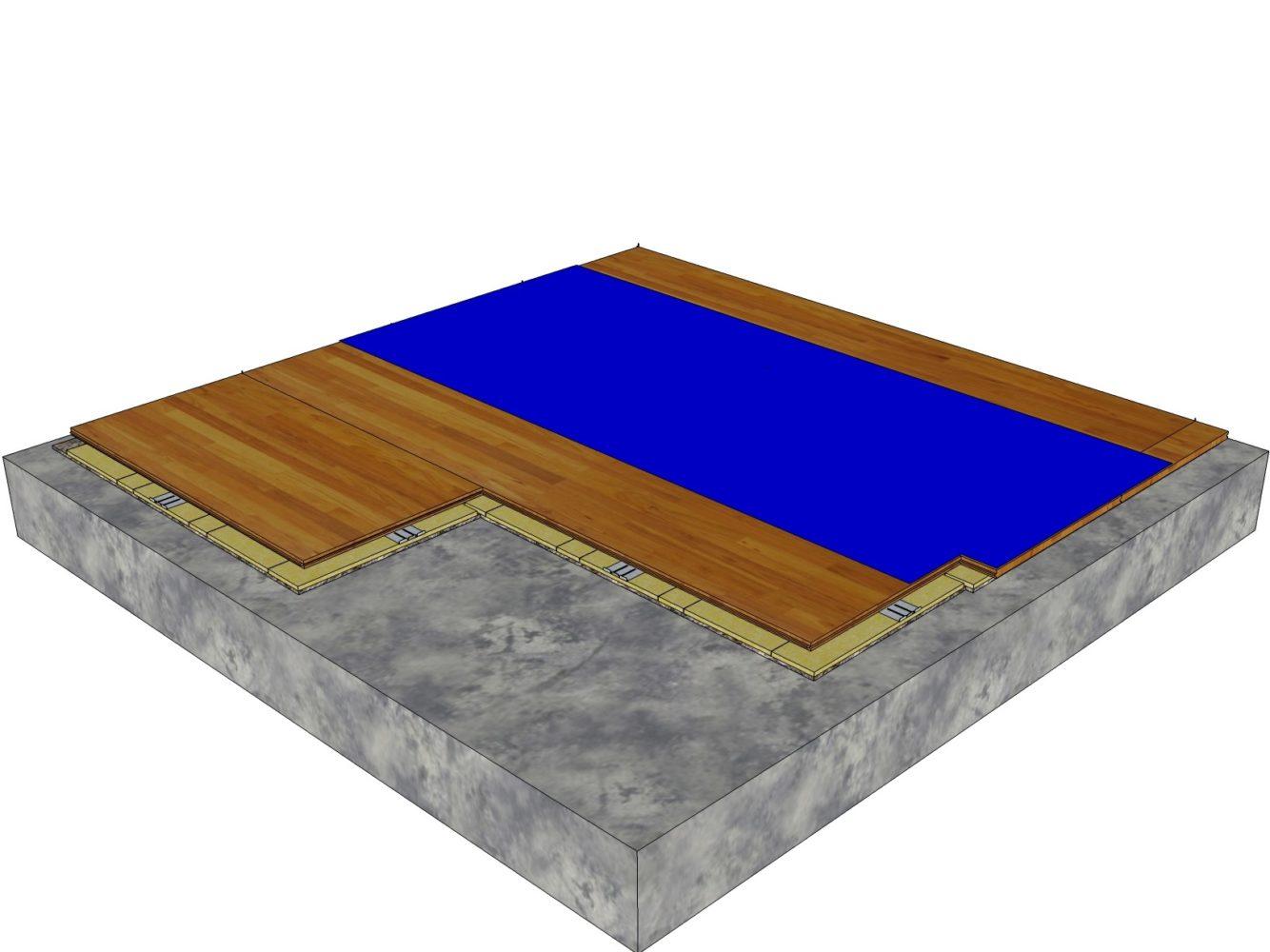 Mobile sports flooring